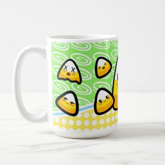 Oh My Goodness! Kawaii Candy Corn! Mug mug