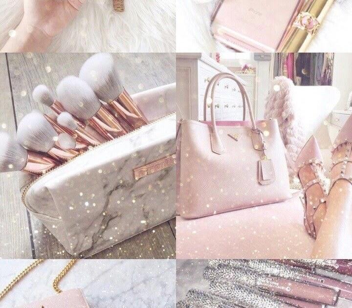 Rose Gold Teenage Girl Pink Aesthetic Wallpaper Hd - Mural Wallpaper