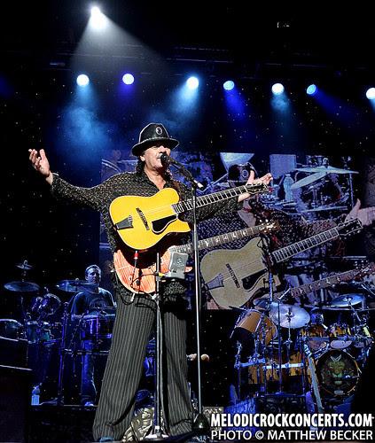 Santana's Universal Tone Tour hits Bristow, VA on July 25, 2010
