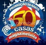 Promoção Magazine Luiza - 50 anos - 50 casas