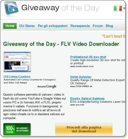Un software gratis al giorno for Generatore di piano di pavimento online gratuito