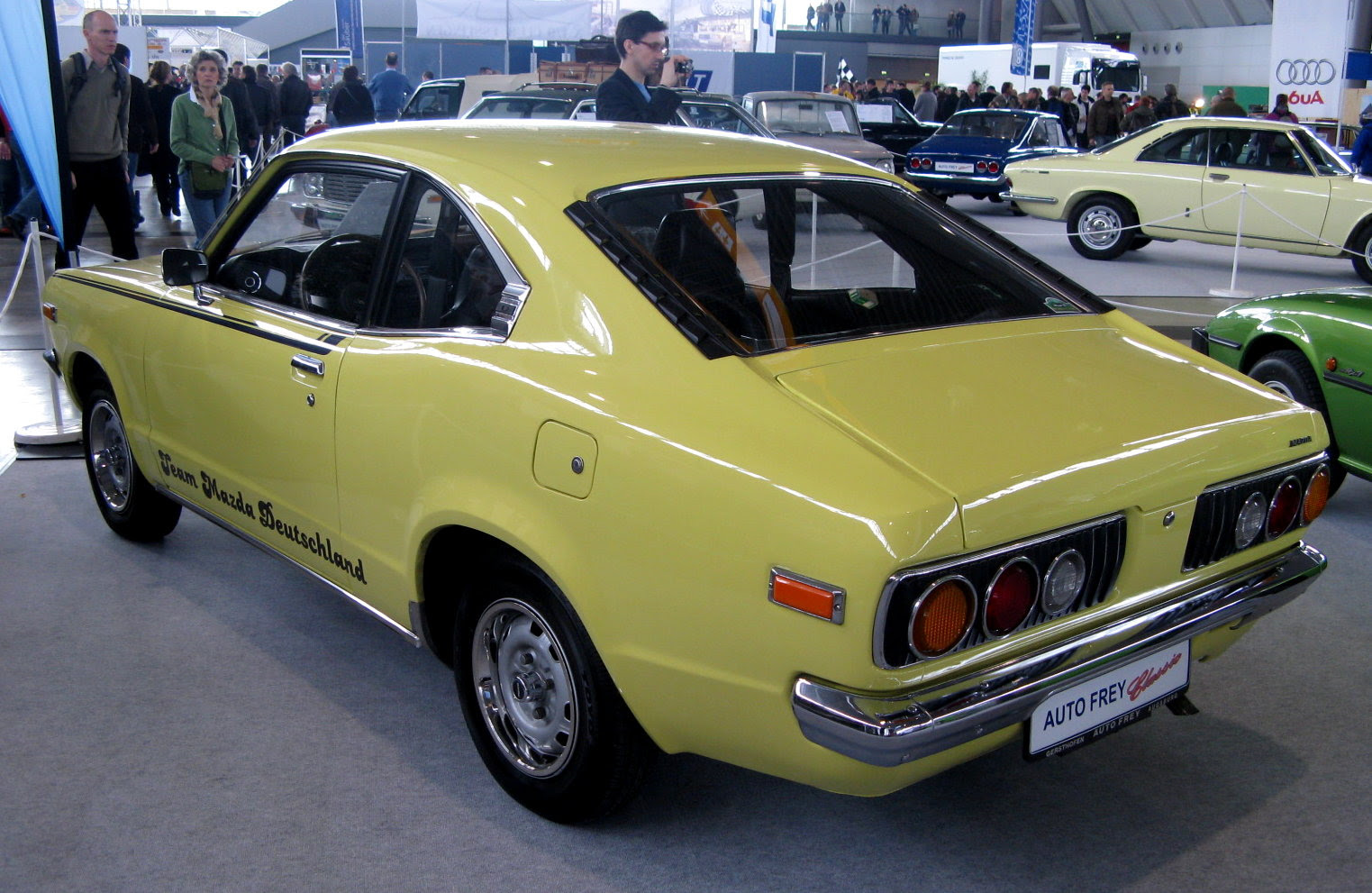 1977 Mazda RX-3 - Information and photos - MOMENTcar