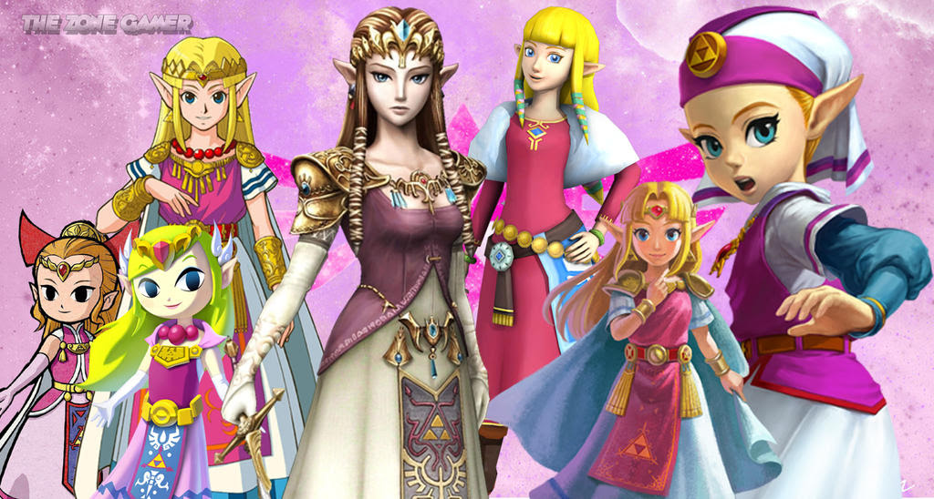 the evolution of princess zelda
