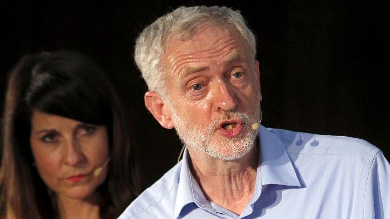 El líder del laborismo británico, Jeremy Corbyn