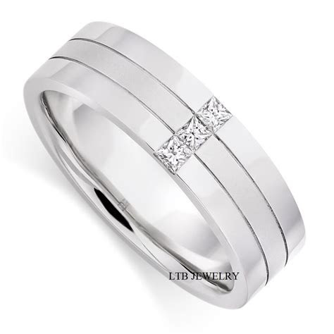 Mens Wedding Bands Gold