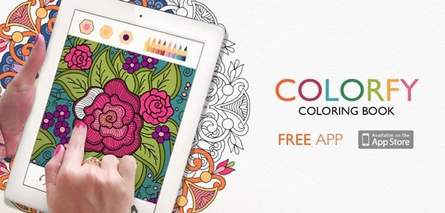 ちょっとしたスキマ時間にピッタリ塗り絵アプリの決定版colorfy