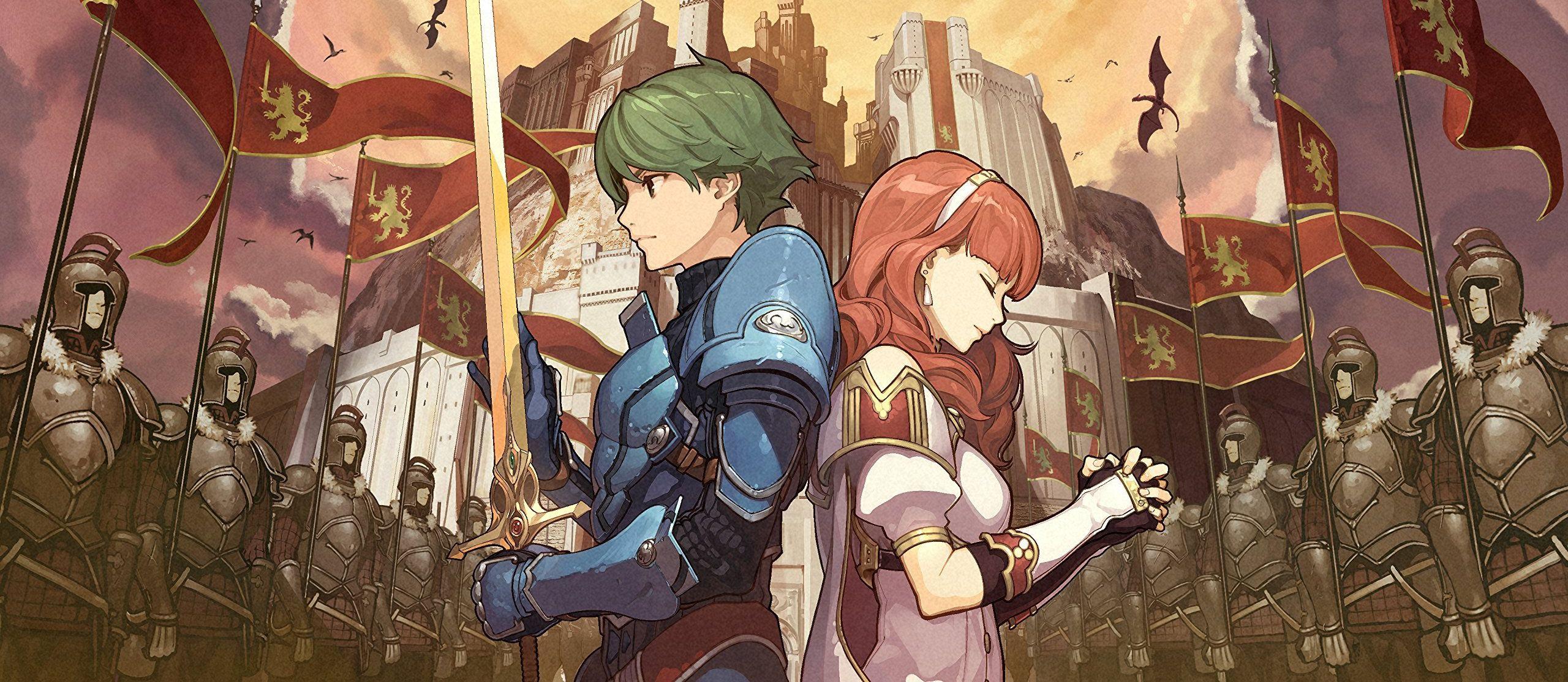 Fire Emblem Echoes: Shadows of Valentia storms Japan screenshot