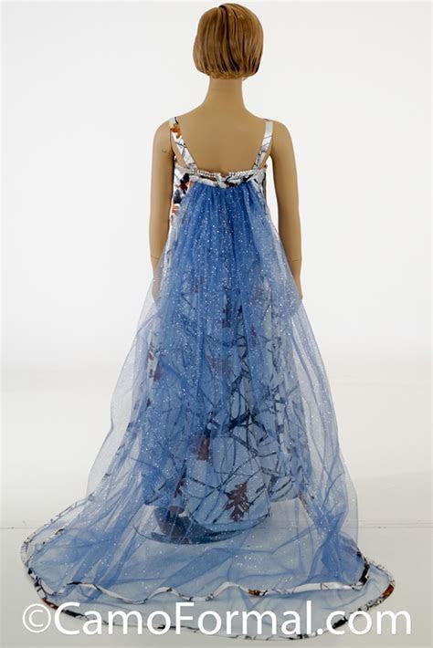 camo frozen princess dress Camouflage Prom Wedding