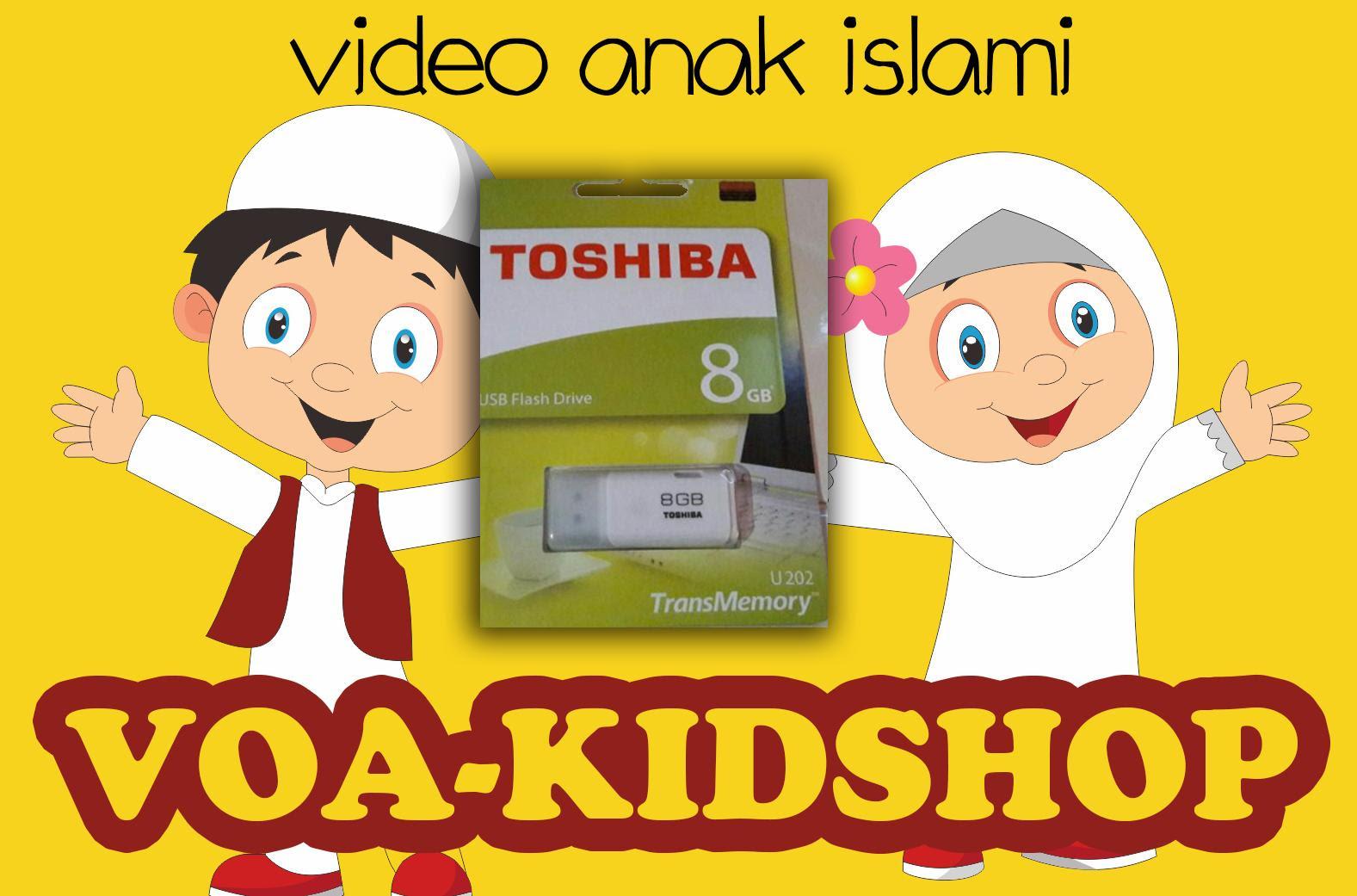 Kumpulan Cerita Animasi Anak Muslim Gokil Abis Flashdisk Edukasi Video Islam Solusi Mendidik Islami Voa