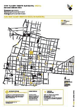 mapa talleres artistas de gracia 2016
