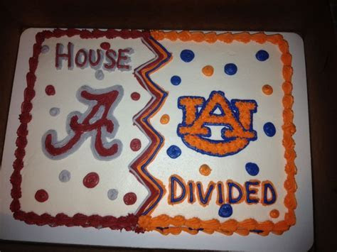 House Divided Alabama and Auburn   Braelynn Birthday in