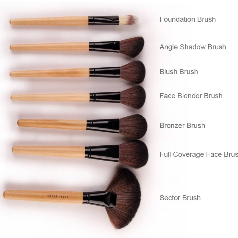 Makeup brushes uses and names pictures