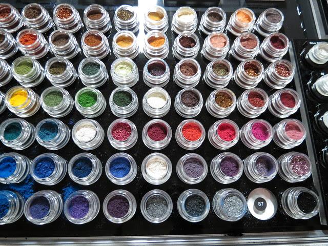 Inglot Pure Pigment Eyeshadows