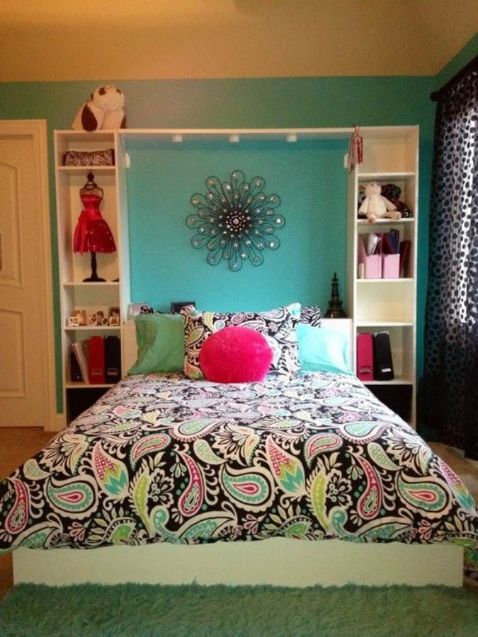15 Ideas to Decorate a Teen Girl Bedroom - Pretty Designs