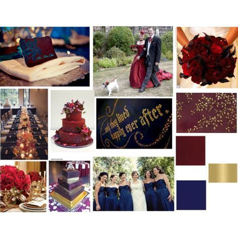 Image result for navy, gold, burgundy wedding decor