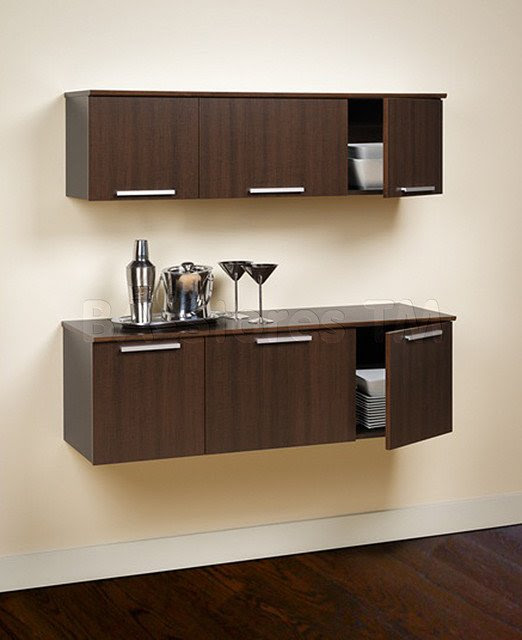 Space-Saving Solutions with wall mounted furniture