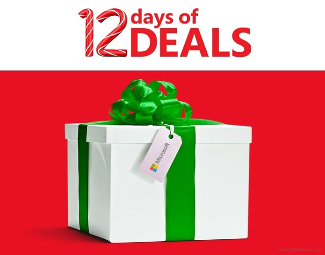 Microsoft announced 12 days of holiday promotions