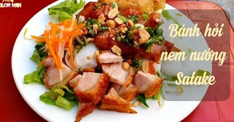 Food For Good #387: Ngon bá chấy bánh Hỏi Nem Nướng Satake 20k dân địa phương cũng không biết