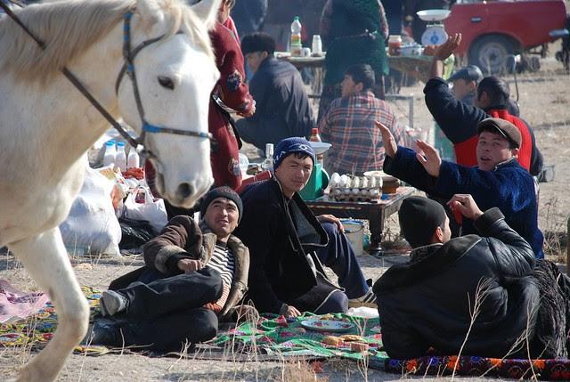 After Buzkashi, near Samarkand 2011