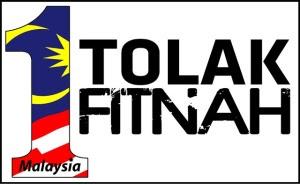 1 Malaysia Tolak Fitnah