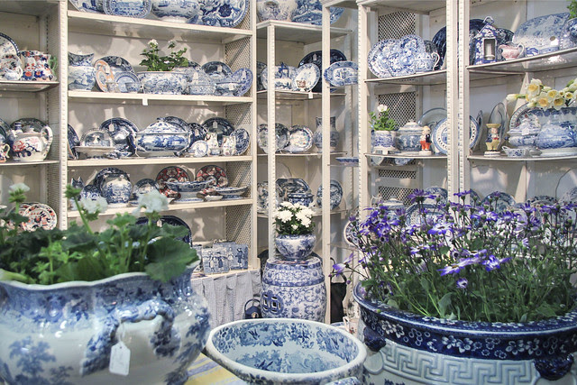 Sue Norman - Blue and White Transferware