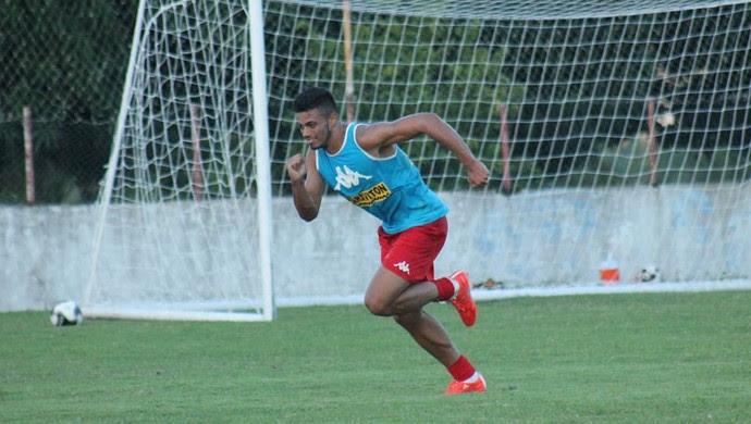 Gustavo - zagueiro do América-RN (Foto: Canindé Pereira/América FC)