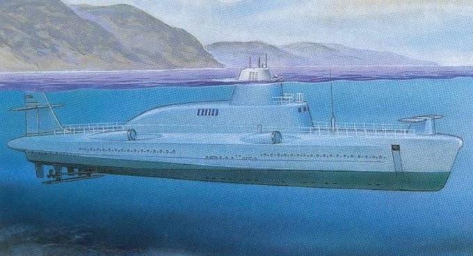 Os monstros marinhos da URSS: os projetos mais ambiciosos