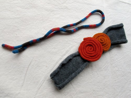 wool coils spontaneous head band