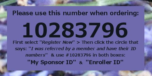 Young Living Customer Number