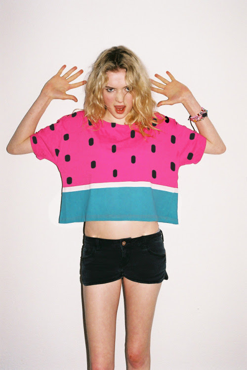 It's Monday, the sun is out and our juicy watermelon crop tee is here. We have a feeling this week will be a good one.