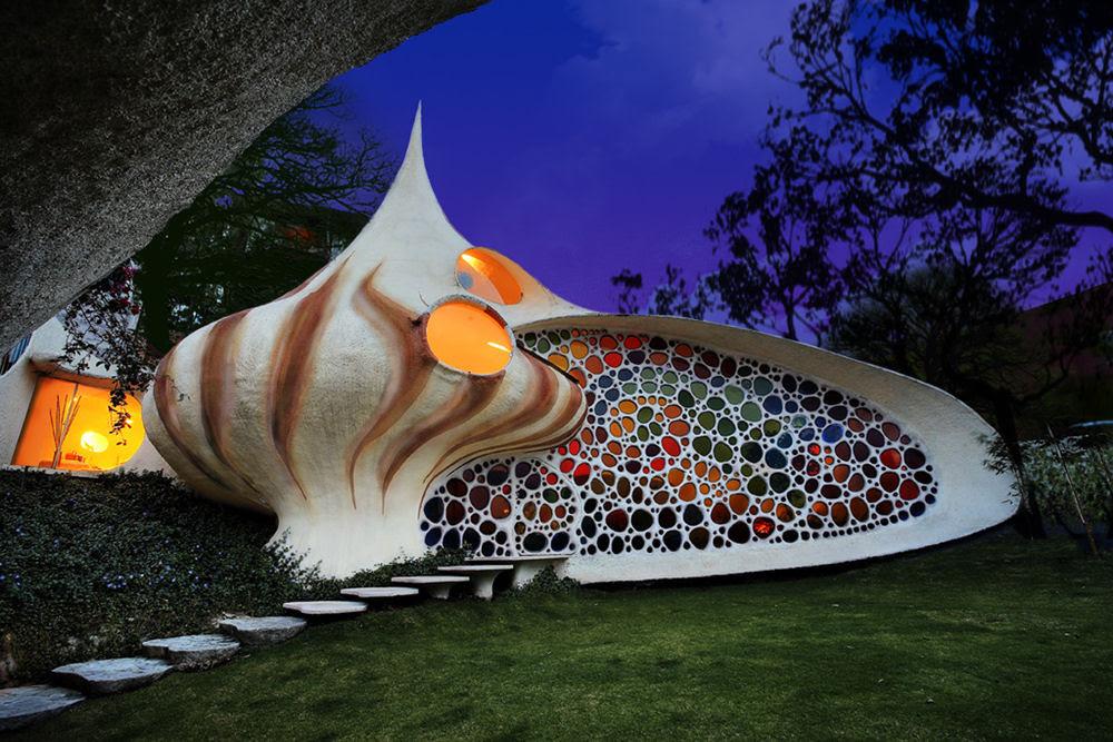 La casa Nautilus, Javier Senosiain, arquitectura, casas