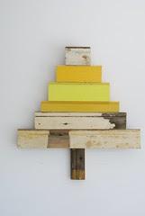 wood & wool x-mas tree [holstebro]