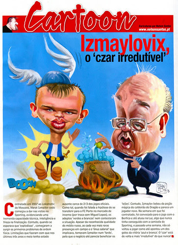 Izmailov-Pinto-Costa-cartoon-revista-futebolista-web by caricaturas