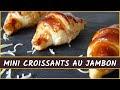 Recette Croissant Jambon