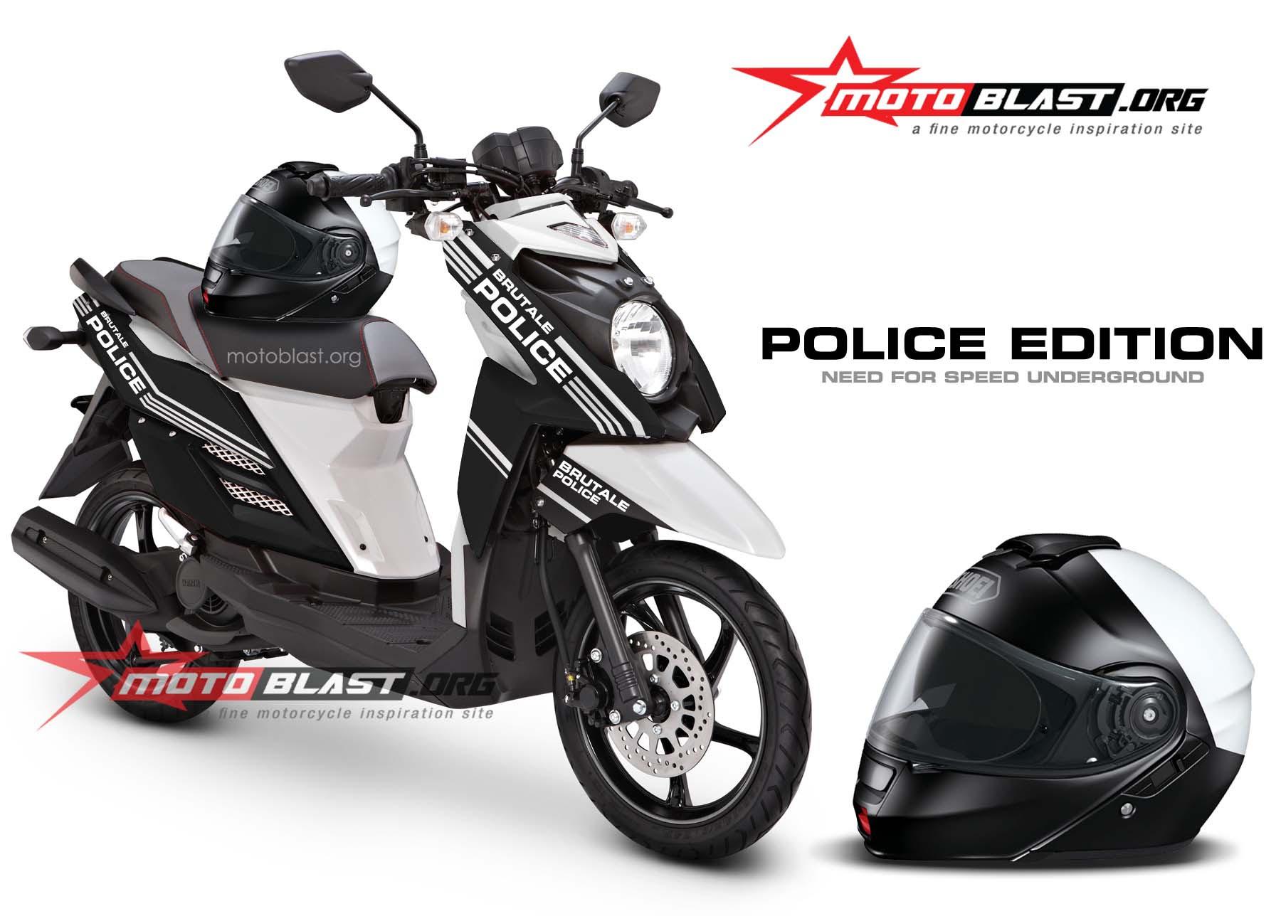 Yamaha X Ride Black Police Edition MOTOBLAST