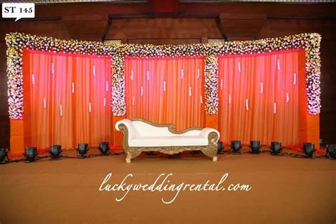 Stage Decorations   On Rent   Lucky Wedding Rental
