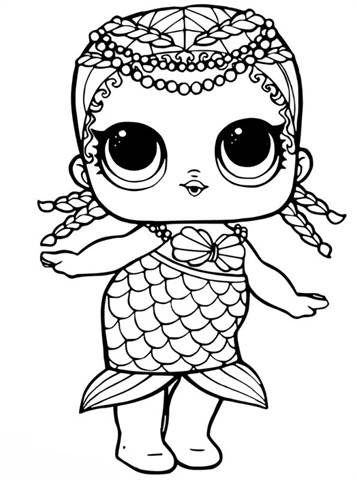 ausmalbilder meerjungfrau mandala
