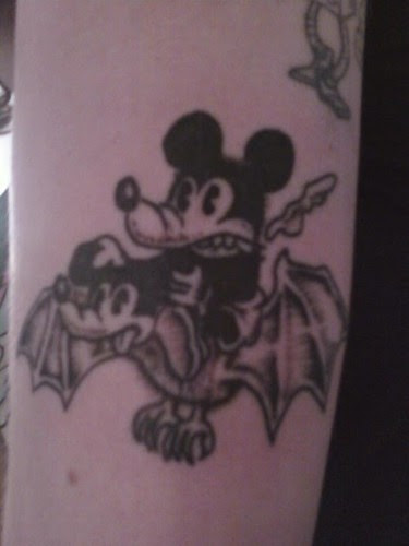Tattoo of my Mickey Mouse drawing