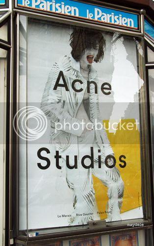 Acne spring summer 2014 campaign in Paris