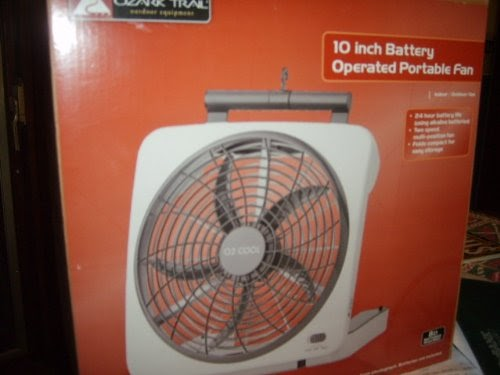 02 Cool Battery Operated Fan : Battery operated fans ozark trail o cool inch