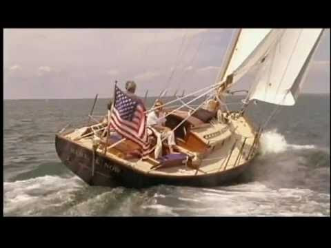 Wooden boat building on Martha's Vineyard - YouTube