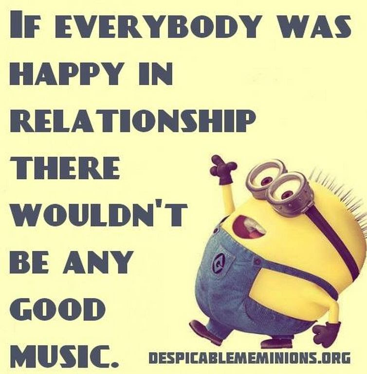 Funny Music Minion Quote Pictures Photos And Images For Facebook Tumblr Pinterest And Twitter
