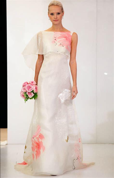 printed wedding dresses 2012 bridal gown trend angel