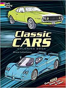 Classic Cars Coloring Book (Dover History Coloring Book ...