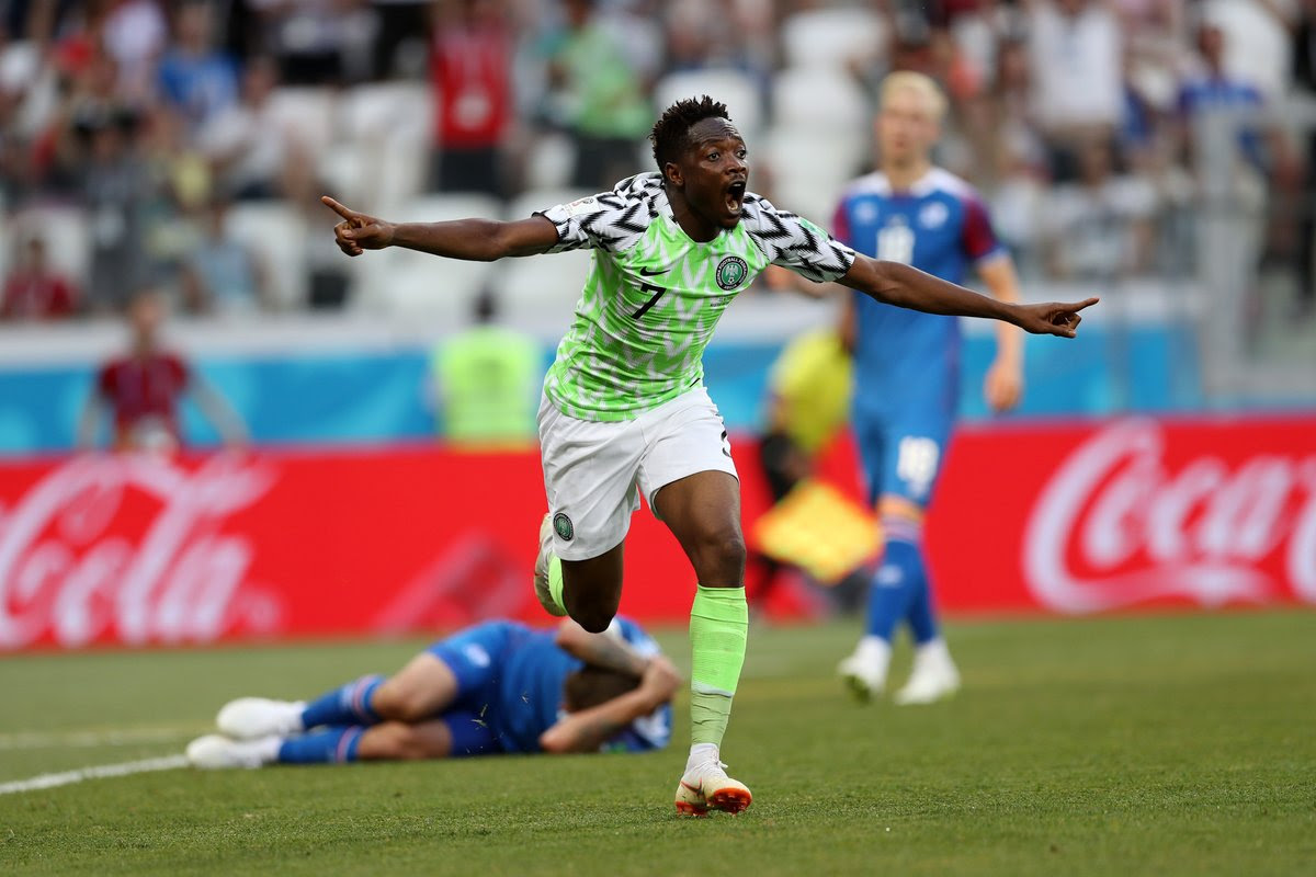 Ahmed Musa's Goal Ranked 8th Best At World Cup (See Full List)