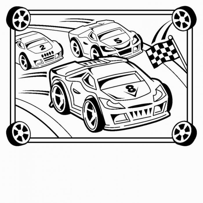 Download Race Car Coloring Pages   Free download on ClipArtMag