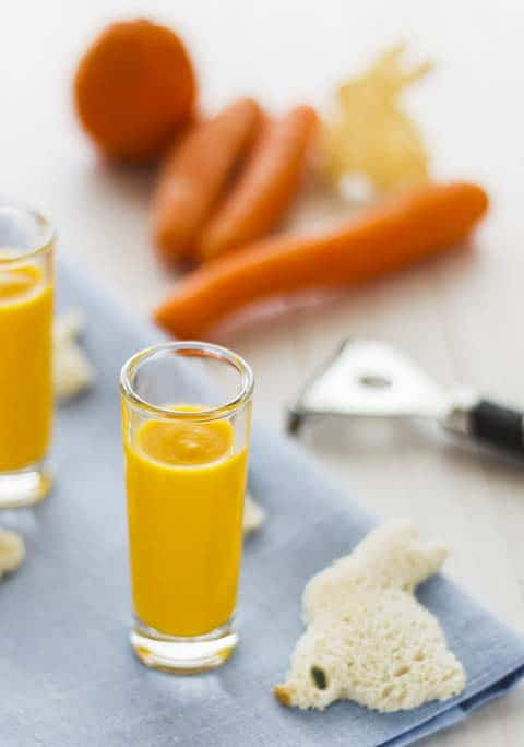 Crema de zanahoria y naranja (2)