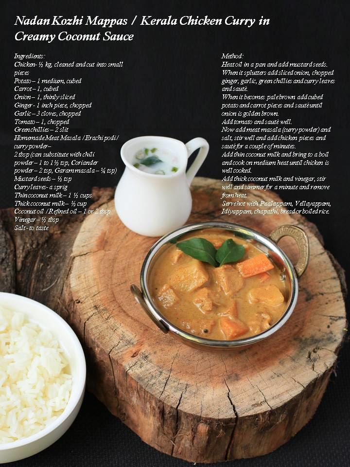 Kerala Kozhi Curry