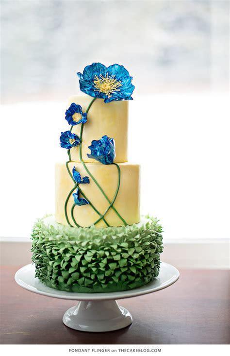 10 Flower Cakes for Spring   The Cake Blog