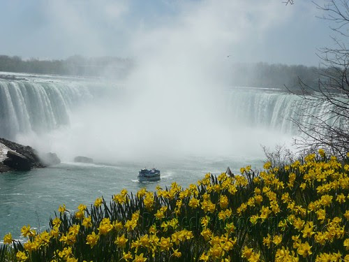 Maid of the Mist in Springtime